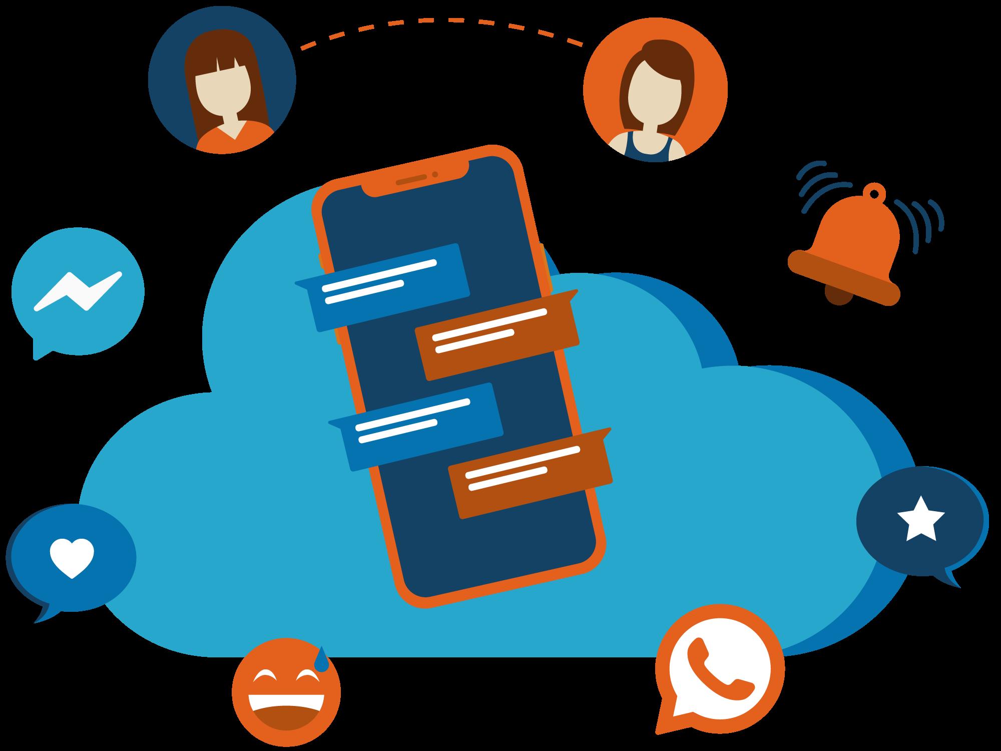 Sviluppo Chatbot Messenger e WhatsApp