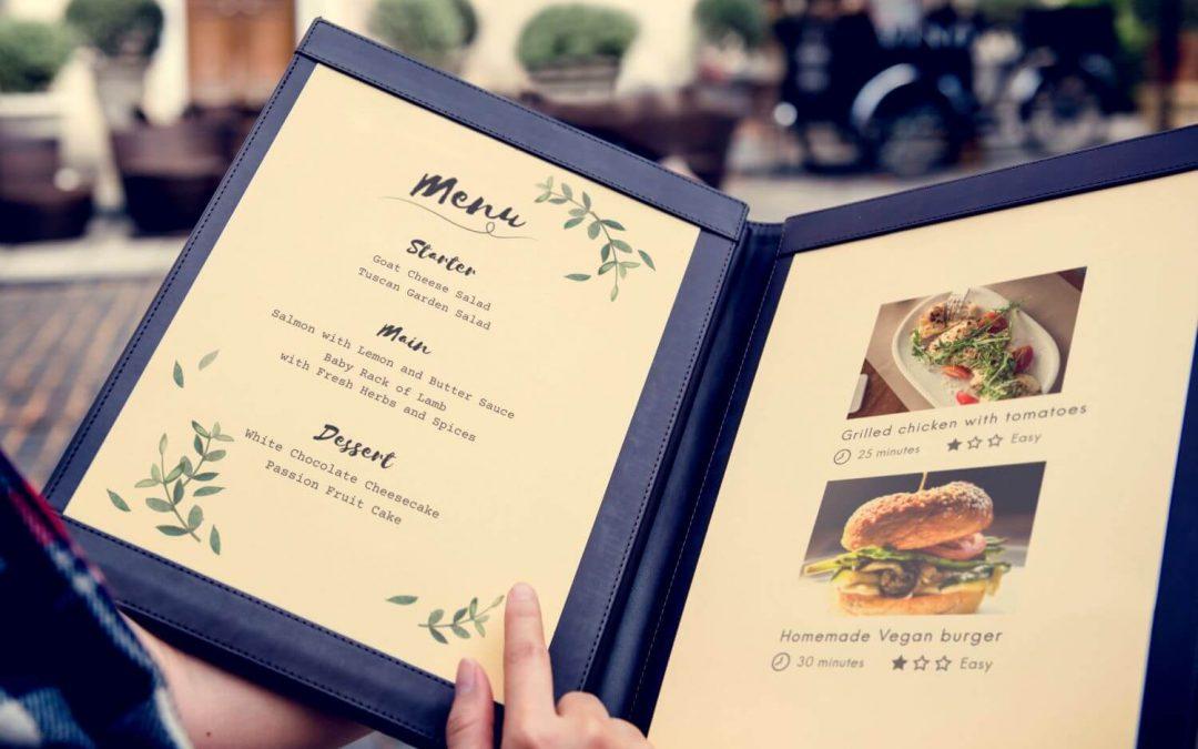 Food Marketing: contenuti e progettazione del Menù