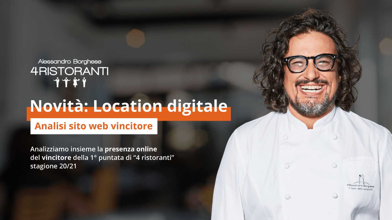 Analisi sito web ristorante vincitore 4 ristoranti Umberto di Slow Sud